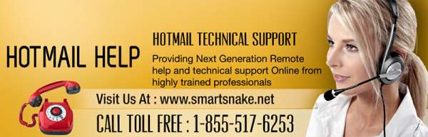 Quick & economical hotmail help support by smartsnake