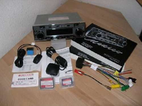 Becker mexico retro 7948 vintage car radio model be 7948 new cascade