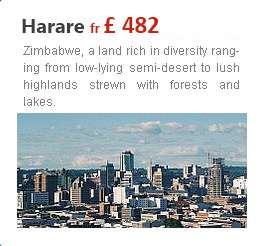 Trip to harare with travelhouseuk from london