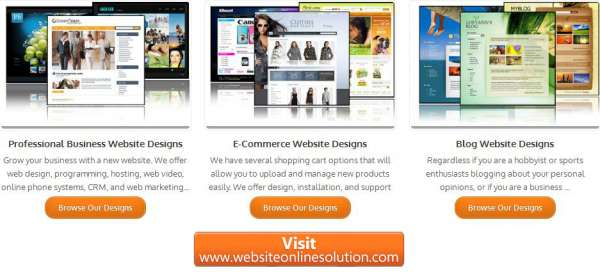 Online information technology solution - website online solution