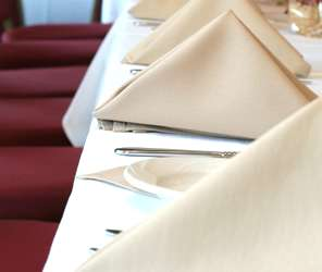 Quality linen hire for hotels and resturants