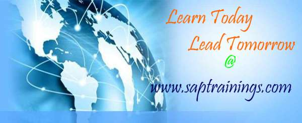 Sap trainings for all sap modules in online with server access