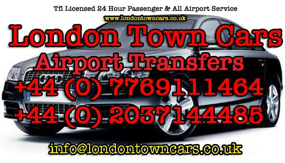+44 (0) 203 714 485 airport transfers london town cars