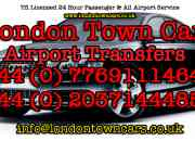 London Town Cars Airport Transfers Mini Cab Service 24/7/365