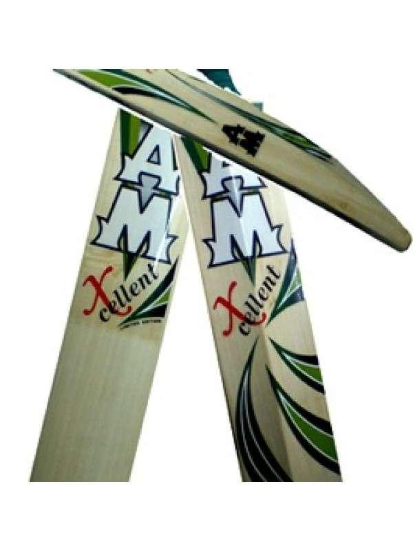 Am king cricket player english willow bat