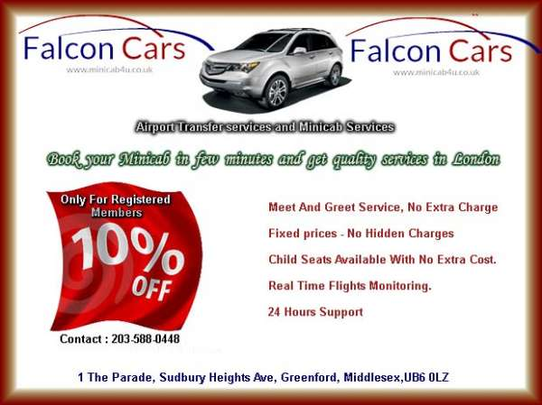 10% discount only for registered members with falcon radio cars