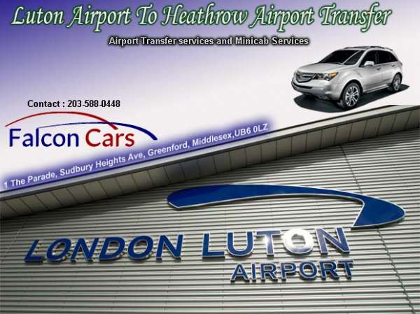 Luton airport to heathrow airport taxi transfer service