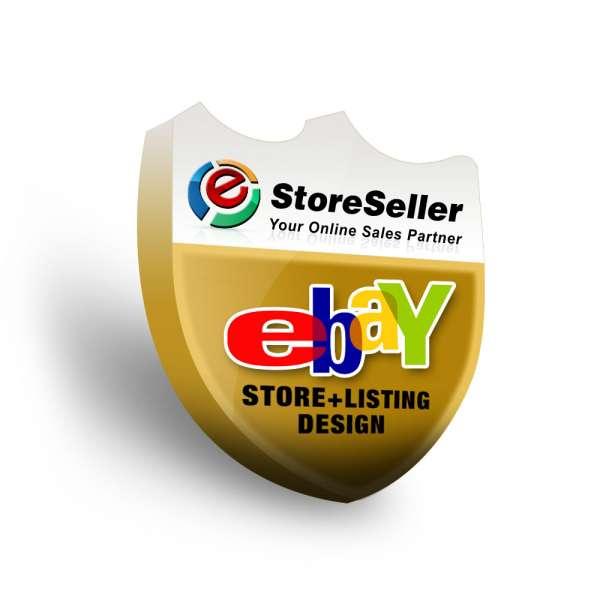 Get ebay shop, ebay store design, custom ebay storefront design