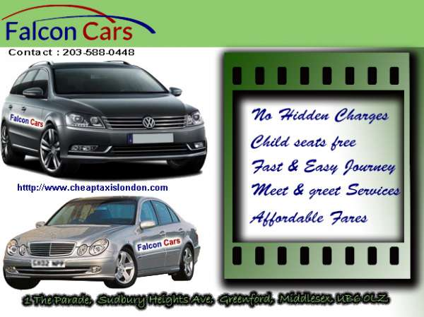Book taxi online from luton airport with falcon cars