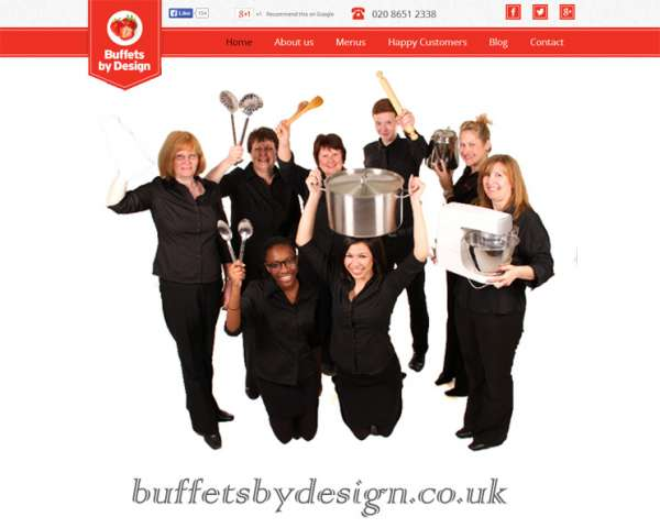 Buffets by design ? wedding catering services in surrey uk