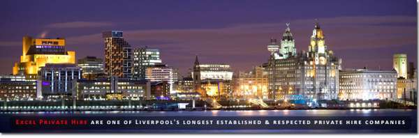 Airport transfer services, hire taxi in liverpool - excel private hire