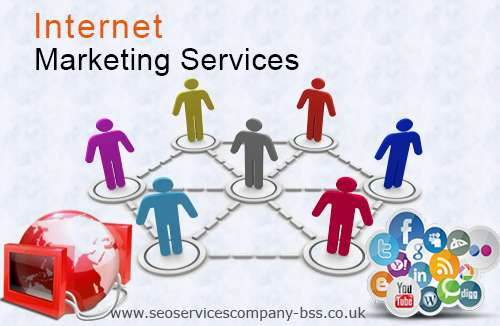 Internet marketing services by blue shark solution