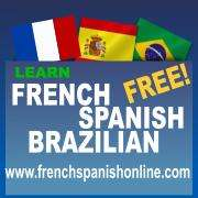 Learn french free online with www.frenchspanishonline.com