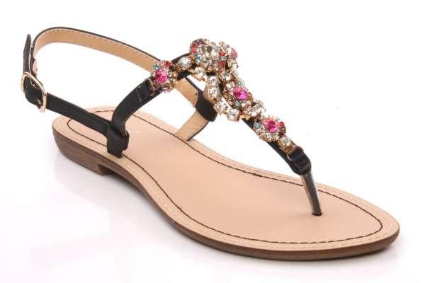Womens thong 'aimee' casual flat sandal