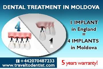 Dental tourism in moldova (free accommodation*)