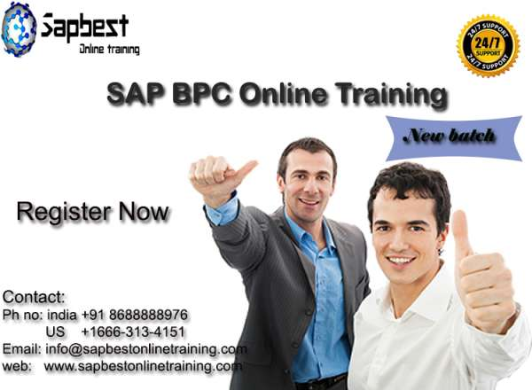 Sap bpc training in hyderabad | sap bpconline training in india |sap bpc project support