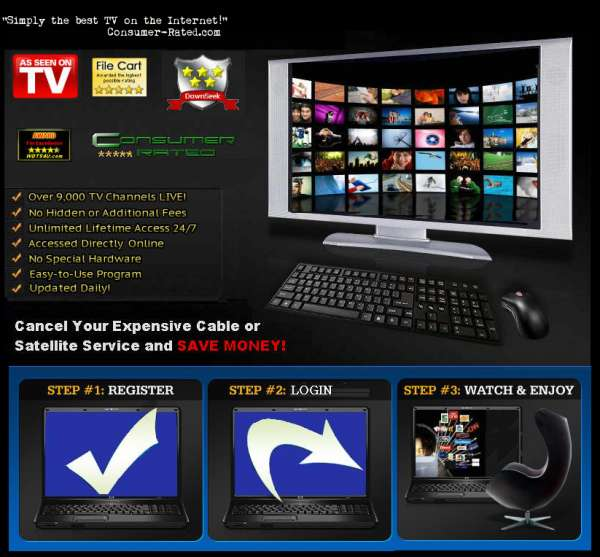 Ecorp media's direct-pctv 9000 watch tv on your pc, laptop, tablet, or mobile device