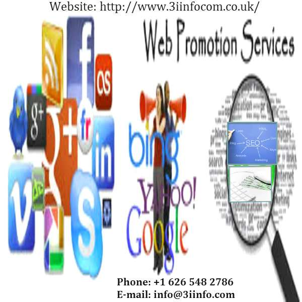 Web promotion services by 3i infocom on profit sharing basis
