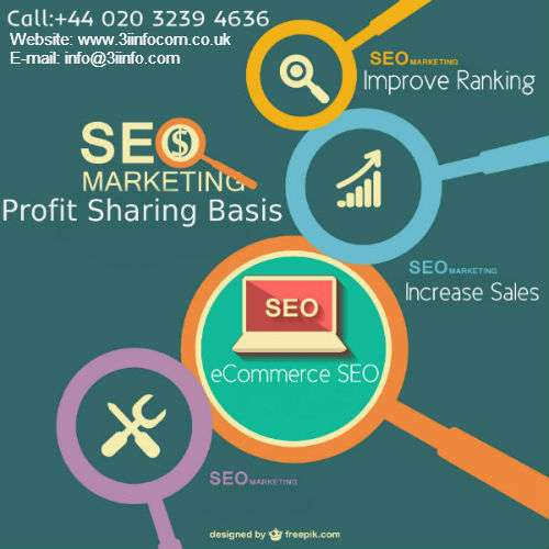 Enhance ecommerce business through profit sharing seo services offered by 3iinfocom