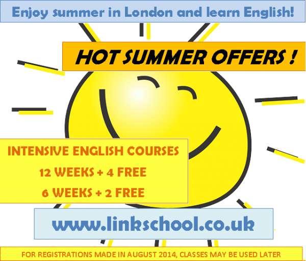 Intensive english in london - book 12 weeks + 4 free