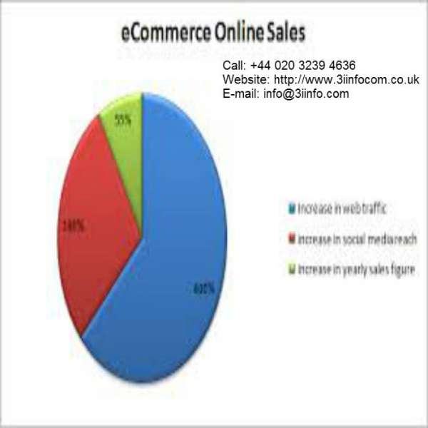 Increase e-commerce sales by profit sharing seo services at 3i infocom