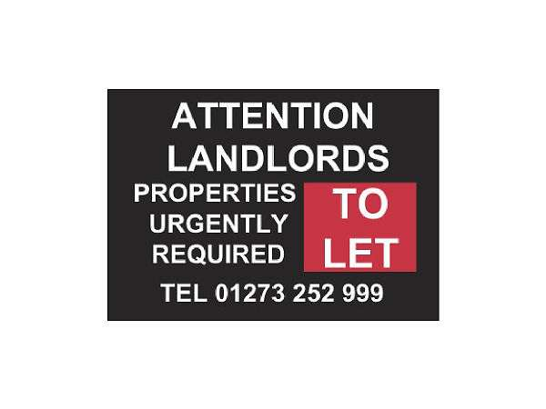 Properties in brighton & hove urgently required to rent.