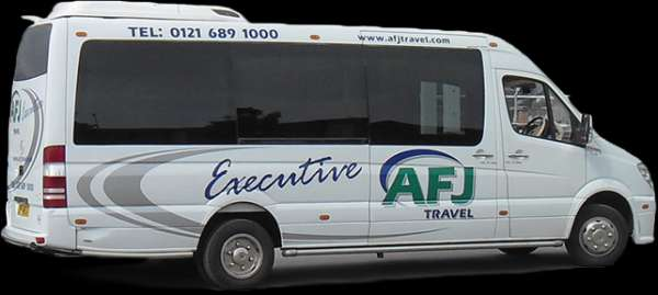 Minibus hire with driver in birmingham