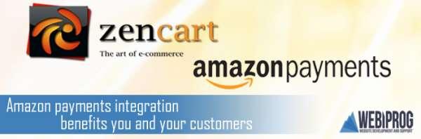Amazon payments plug-in for zen cart