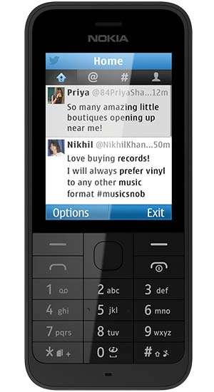 Nokia 220 black (silver-66785)http://www.phones4u.co.uk