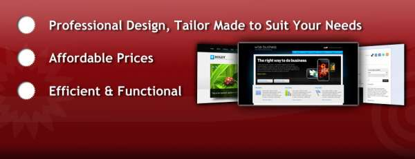Now design your own website with a wow effect, no satisfaction no fee