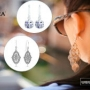 Stylish Pandora Earrings with fantastic neckwear enhance your look