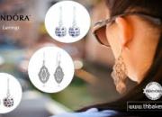 Stylish Pandora Earrings with fantastic neckwear enhance your look