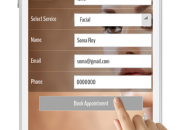 Build your own customized mobile applications for your beauty parlour.