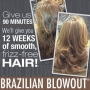 Brazilian Keratin Blowout  Special Offer by Contrasti Hair Salon in London.