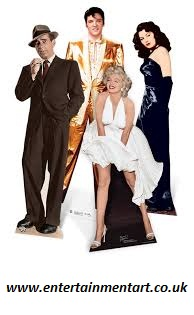 Full size custom cardboard cutouts