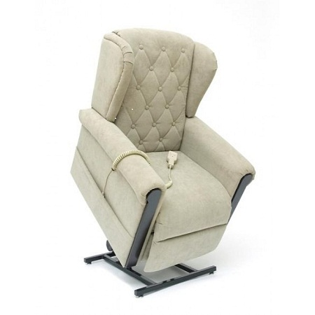 Buy wing back riser recliner chair