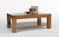 Santana rustic oak coffee table 120 x 70cm