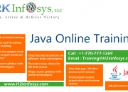 Advanced Java Online Training And Job Assistance