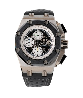 Pre owned audemars piguet barrichello ii watch