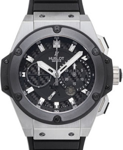 Pre-owned big bang hublot king power zirconium 709 zm 1770 rx watch