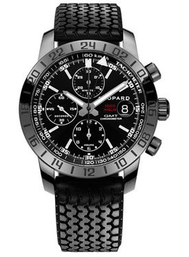 Pre-owned chopard speed black watch
