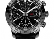 Pre-owned chopard speed black watch