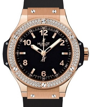Pictures of Pre-owned hublot big bang quartz rose gold watch 6