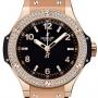 Pre-owned Hublot Big Bang Quartz Rose Gold Watch