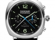 Pre-owned panerai radiomir regatta pam00343 watch
