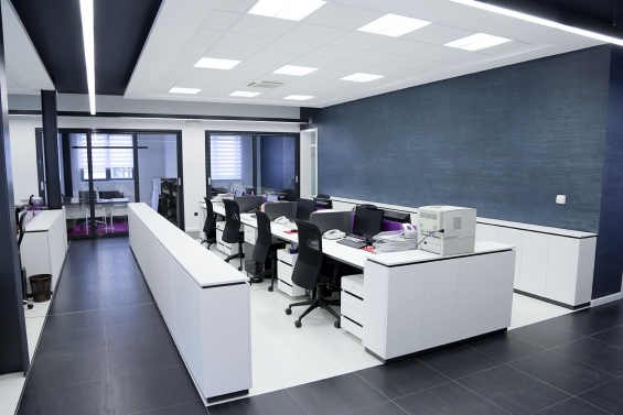Grosvenor.uk.com:- office partitioning