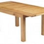 Canterbury Oak Extending Dining Table 240cm