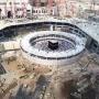 New construction near kaaba
