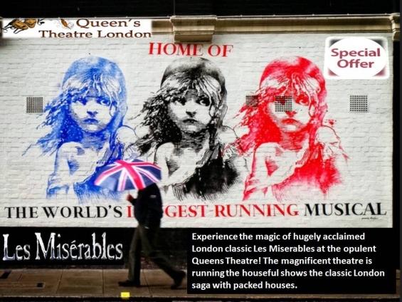 Queens theatre in london
