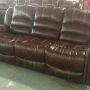 Bonded Leather - Burgundy